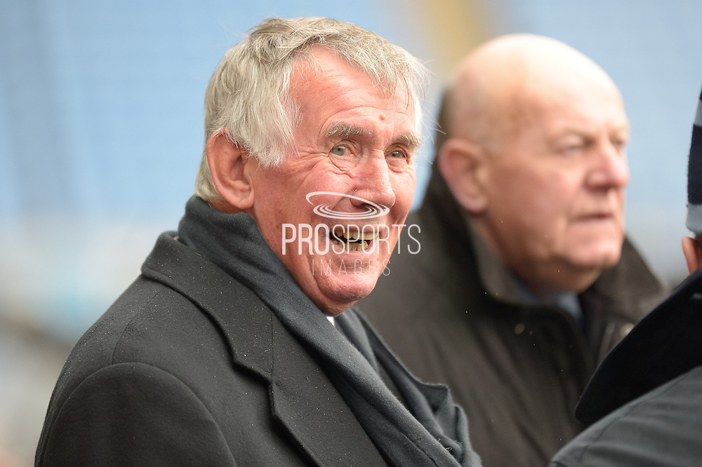 Coventry City Legend Bill Glazier during the Sky Bet League 1 match between Coventry City and Bury at the Ricoh Arena, Coventry, England on 13 February 2016. Photo by Dennis Goodwin.