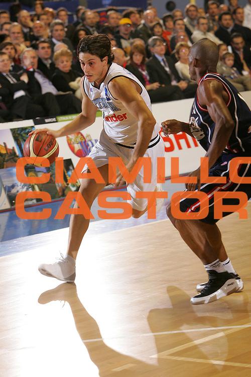 DESCRIZIONE : Torino Lega A1 2006-07 Tim All Star Game 2006 Italia Champion All Stars <br /> GIOCATORE : Mordente <br /> SQUADRA : Italia <br /> EVENTO : Campionato Lega A1 2006-2007 <br /> GARA : Tim All Star Game 2006 Italia Champion All Stars <br /> DATA : 23/12/2006 <br /> CATEGORIA : Palleggio <br /> SPORT : Pallacanestro <br /> AUTORE : Agenzia Ciamillo-Castoria/S.Silvestri