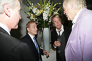 Simon Jenkins and Andrew Marr, Launch of Tina Brown's book 'The Diana Chronicles' hosted by Reuters. Serpentine Gallery. 18 June 2007.  -DO NOT ARCHIVE-© Copyright Photograph by Dafydd Jones. 248 Clapham Rd. London SW9 0PZ. Tel 0207 820 0771. www.dafjones.com.