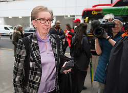 © Licensed to London News Pictures. 22/01/2018. London, UK. Labour MP MARGARET BECKETT arrives at Labour Party headquarters ahead of an NEC (National Executive Committee) meeting. A number of pro Corbyn party members have recently been elected to the NEC, in what has been seen as a shift to the left for the ruling body. Photo credit: Ben Cawthra/LNP