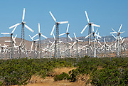 The Iconic Windmills of the Southern California Desert