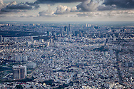 Aerial view of Ho Chi Minh City, Vietnam, Southeast Asia