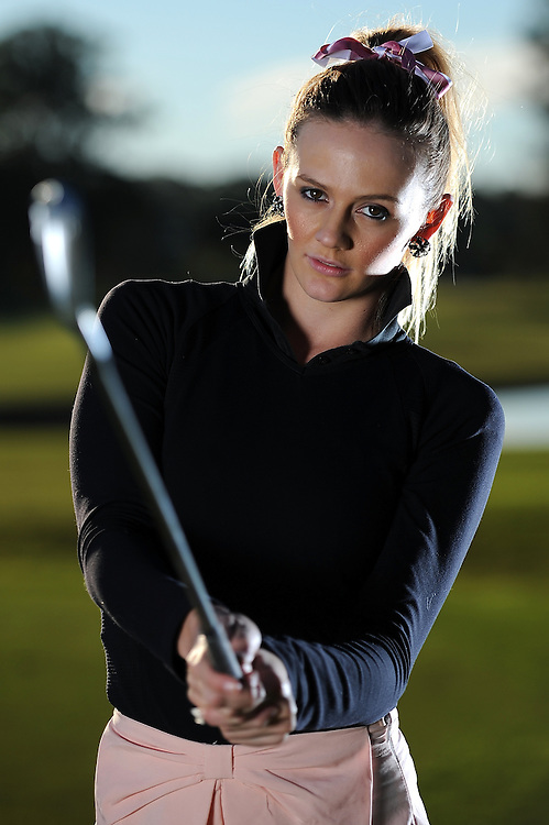 Australian amateur golfer Jasmine Finlay poses during a portrait session at Royal Pines Resort on June 18, 2013 on the Gold Coast, Australia. (Photo by Matt Roberts/Getty Images/mattrimages.com.au)