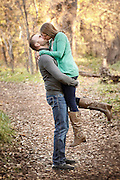 Engagement photography with Chad McCollum and Jodi Lareau at Crescent Moon recreation site, Red Rock Crossing, Sedona, Arizona, Nov. 21, 2015.