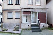 Leerstand Geschäft, hässliches Haus, Schotten, Vogelsberg, Hessen, Deutschland | ugly house, Schotten, Vogelsberg, Hesse, Germany