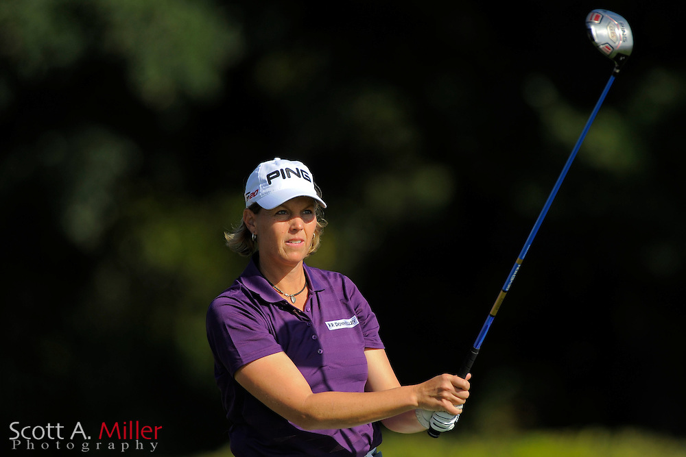 Wendy Ward during the second round of the CME Group Titleholders at Grand Cypress Resort on Nov. 18, 2011 in Orlando, Fla.  ..©2011 Scott A. Miller