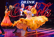 Strictly Ballroom <br /> By Baz Luhrmann <br /> At The Piccadilly Theatre, London, Great Britain <br /> Press photocall <br /> 17th April 2018 <br /> <br />  company