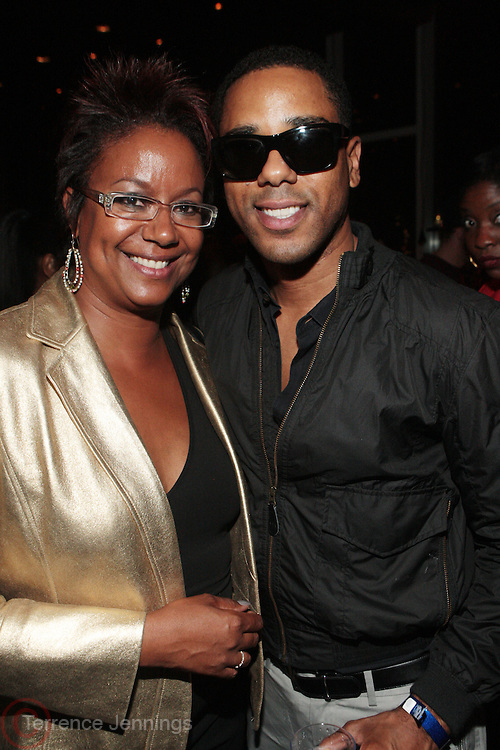 9 September 2010- New York, NY- l to r: Harriete Cole and BJ Colman at The 25th Anniversary Celebration hosted by Bethann Hardison son the ocassion of Naomi Campbell's 25 years in the Fashion Industry held at Lebain in the Standard Hotel on September 9, 2010 in New York City