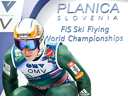 21.03.2010, Planica, Kranjska Gora, SLO, FIS SKI Flying World Championships 2010, Flying Hill Team, im Bild TEPES Jurij, ( SLO ), EXPA Pictures © 2010, PhotoCredit: EXPA/ J. Groder / SPORTIDA PHOTO AGENCY