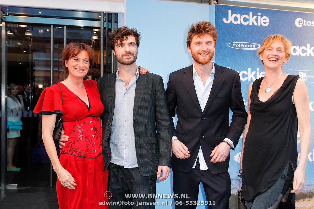 NLD/Amsterdam/20120507 - Premiere Jackie, Karen van Holst - Pellekaan (l), .