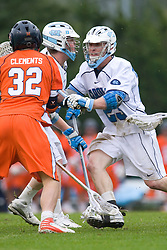 05 April 2008: North Carolina Tar Heels midfielder Nick Tintle (23) during a 11-12 OT loss to the Virginia Cavaliers on Fetzer Field in Chapel Hill, NC.