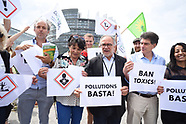 Protest Against toxic produits In front of the European Parliament - 03 July 2018