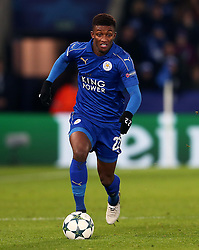 Demarai Gray of Leicester City  - Mandatory by-line: Matt McNulty/JMP - 22/11/2016 - FOOTBALL - King Power Stadium - Leicester, England - Leicester City v Club Brugge - UEFA Champions League