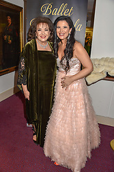 26 January 2020 - 26 January 2020 - Baria Alamuddin (mother of Amal Clooney) and Olga Balakleets at the Ballet Icons Gala at the London Coliseum, St.Martin's Lane, London.<br /> <br /> <br /> Photo by Dominic O'Neill/Desmond O'Neill Features Ltd.  +44(0)1306 731608  www.donfeatures.com