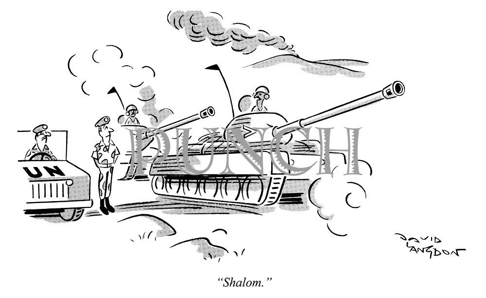 """""""Shalom."""""""