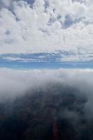 16 JUL 2005, GERMANY:<br /> Wolkenformaionen von einem H ubschrauber aus fotografiert, weahrend einem Flug von Mainz nach Hannover<br /> IMAGE: 20050716-02-013 <br /> KEYWORDS: Wetter, weather, Natur, nature, clouds, Himmel, sky, Wolkenschicht