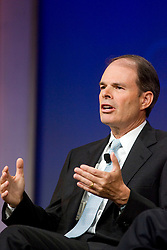 Craig McCaw, Chairman,  Clearwire photographed during a discussion on the future of wireless in San Francisco, CA.  .  Photo ©2008 By Kim Kulish