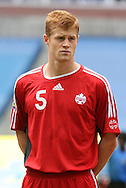 16 June 2007: Canada's Andrew Hainault. The Canada Men's National team defeated the Guatemala Men's National Team 3-0 at Gillette Stadium in Foxboro, Massachusetts in a 2007 CONCACAF Gold Cup quarterfinal.