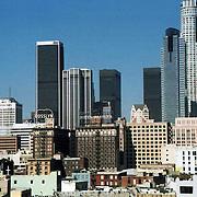 Downtown LA cityscape
