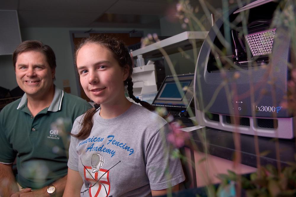 Allan Showalter & Molly Semones env. Portrait in Lab