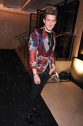 HENRY HOLLAND at the 2008 British Fashion Awards held at the Lawrence Hall, Westminster, London on 25th November 2008.