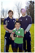 London Irish Premier Rugby Camp at Lord Wandsworth 05-04-2006 - Pics with Players