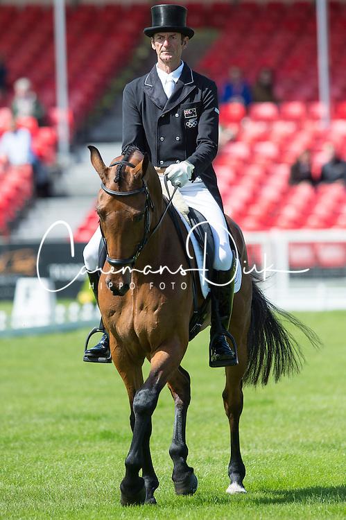 Todd Mark, (NZL), Leonidas II<br /> Dressage <br /> Mitsubishi Motors Badminton Horse Trials - Badminton 2015<br /> &copy; Hippo Foto - Jon Stroud<br /> 07/05/15