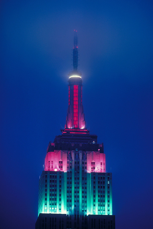 NYC, NY, Empire State Building, designed by Shreve, Lamb & Harmon, William F. Lamb as chief designer (&Gregory Johnson)