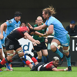 Jacques DU PLESSIS of Montpellier  during the Top 14 match between Montpellier and Toulouse on October 19, 2019 in Montpellier, France. (Photo by Alexandre Dimou/Icon Sport) - Jacques DU PLESSIS - Altrad Stadium - Montpellier (France)