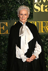 © Licensed to London News Pictures. 13/11/2016. London, UK, Glenn Close, Evening Standard Theatre Awards, Photo credit: Richard Goldschmidt/LNP