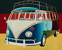 The 1963 Volkswagen Combi Deluxe is the first van of the famous Volkswagen vans still in daily use all over the world. This Volkswagen Combi was during the 70's of last century the symbol of the hippie culture but it was also used by ordinary families to go camping.<br />