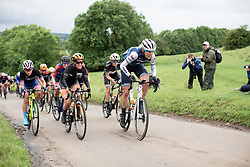 Ellen van Dijk (NED) of Trek-Segafredo climbs on Stage 4 of 2019 OVO Women's Tour, a 158.9 km road race from Warwick to Burton Dassett, United Kingdom on June 13, 2019. Photo by Balint Hamvas/velofocus.com