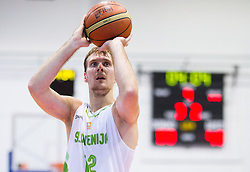 Zoran Dragic of Slovenia during friendly basketball match between National teams of Slovenia and Ukraine at day 3 of Adecco Cup 2014, on July 26, 2014 in Rogaska Slatina, Slovenia. Photo by Vid Ponikvar / Sportida.com