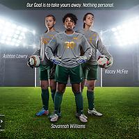 University of Regina Women's Soccer Team Goalkeepers of 2015