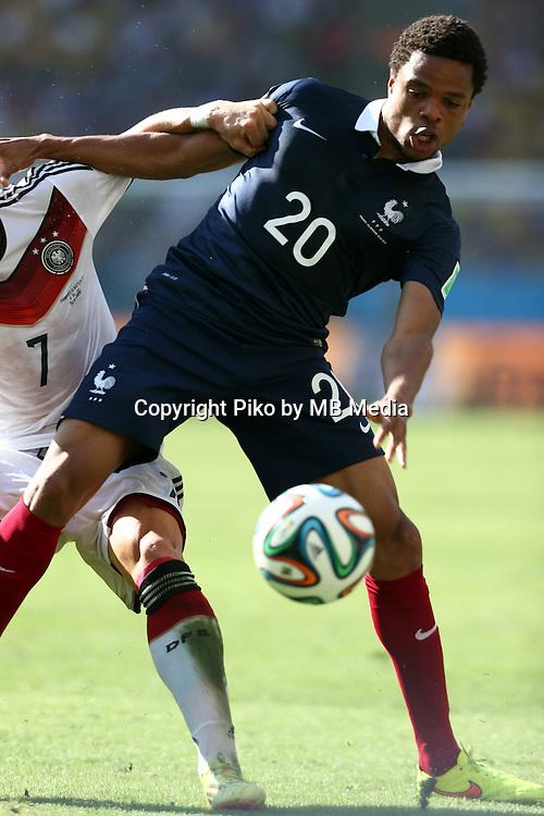 Fifa Soccer World Cup - Brazil 2014 - <br /> FRANCE (FRA) Vs. GERMANY (GER) - Quarter-finals - Estadio do Maracana Rio De Janeiro -- Brazil (BRA) - 04 July 2014 <br /> Here French player Loic REMY (C)<br /> &copy; PikoPress