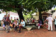 Park in Baracoa, Guantanamo, Cuba.