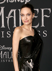 """October 2, 2019, La, United States of America: Angelina Jolie arriving at the World Premiere Of Disney's """"Maleficent: Mistress Of Evil'' at the El Capitan Theatre on September 30, 2019 in Los Angeles, California  (Credit Image: © Famous/Ace Pictures via ZUMA Press)"""