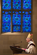 Bishop Salvatore R. Matano speaks during the Chrism Mass at Sacred Heart Cathedral in Rochester on Tuesday, March 31, 2015.