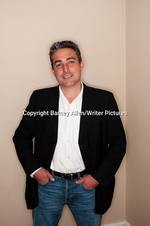 Matthew Hall, aka MR Hall, British screenwriter and novelist, photographed during the Theakstons Old Peculier Crime Writing Festival, Harrogate, 23 July 2011<br /> <br /> Copyright Barney Allen/Writer Pictures