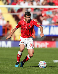 Josh Cullen of Charlton Athletic on the ball - Mandatory by-line: Arron Gent/JMP - 14/09/2019 - FOOTBALL - The Valley - Charlton, London, England - Charlton Athletic v Birmingham City - Sky Bet Championship