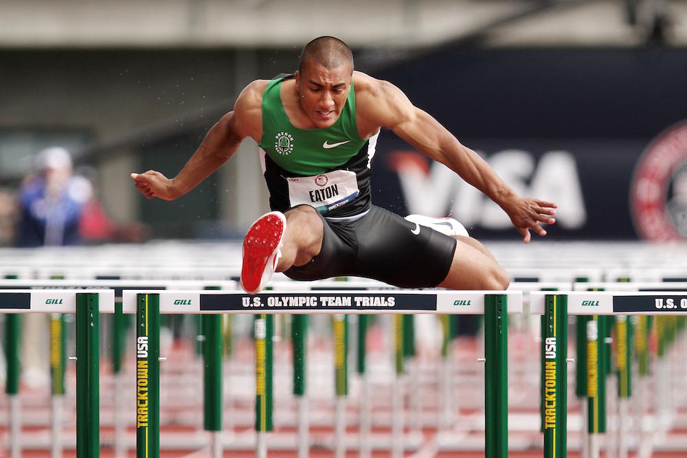 Olympic Trials Eugene 2012: Decathlon, 110 Meter Hurdles, Ashton Eaton