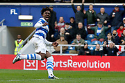 QPR midfielder Eberechi Eze (30) celebrates a goal (score 1-0) during the EFL Sky Bet Championship match between Queens Park Rangers and Sunderland at the Loftus Road Stadium, London, England on 10 March 2018. Picture by Andy Walter.