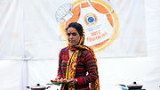 Dharma Life Entrepreneur Reshma Devi from Rautu Ki Beli Village, near Mussoorie, Uttarakhand.<br /> She has 2 daughters - Vaishnavi (4 years) and Vaishali (2 years) <br /> Her Mother in Law is Chanda Devi.