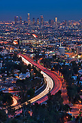 Los Angeles Skyline, Capital Records Hollywood CA,  Beautiful, Unique