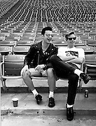 David Gahan - Depeche Mode, photographed at Pasadena Rose Bowl, June 1988.