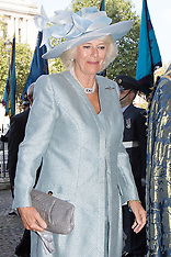SEP 21 2014 Battle of Britain service with Charles and Camilla