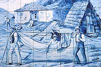 Azulejos at Funchal- Madeira island - Portugal