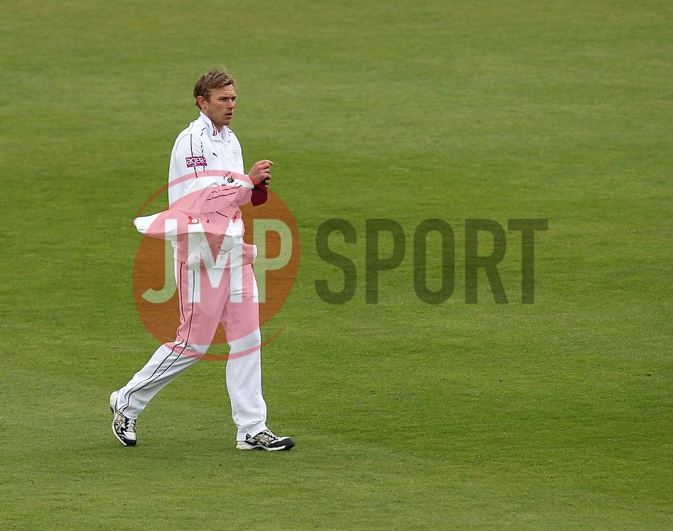 Hampshire's Danny Briggs - Photo mandatory by-line: Robbie Stephenson/JMP - Mobile: 07966 386802 - 26/04/2015 - SPORT - Cricket - Southampton - The Ageas Bowl - Hampshire v Nottinghamshire - County Championship Division One