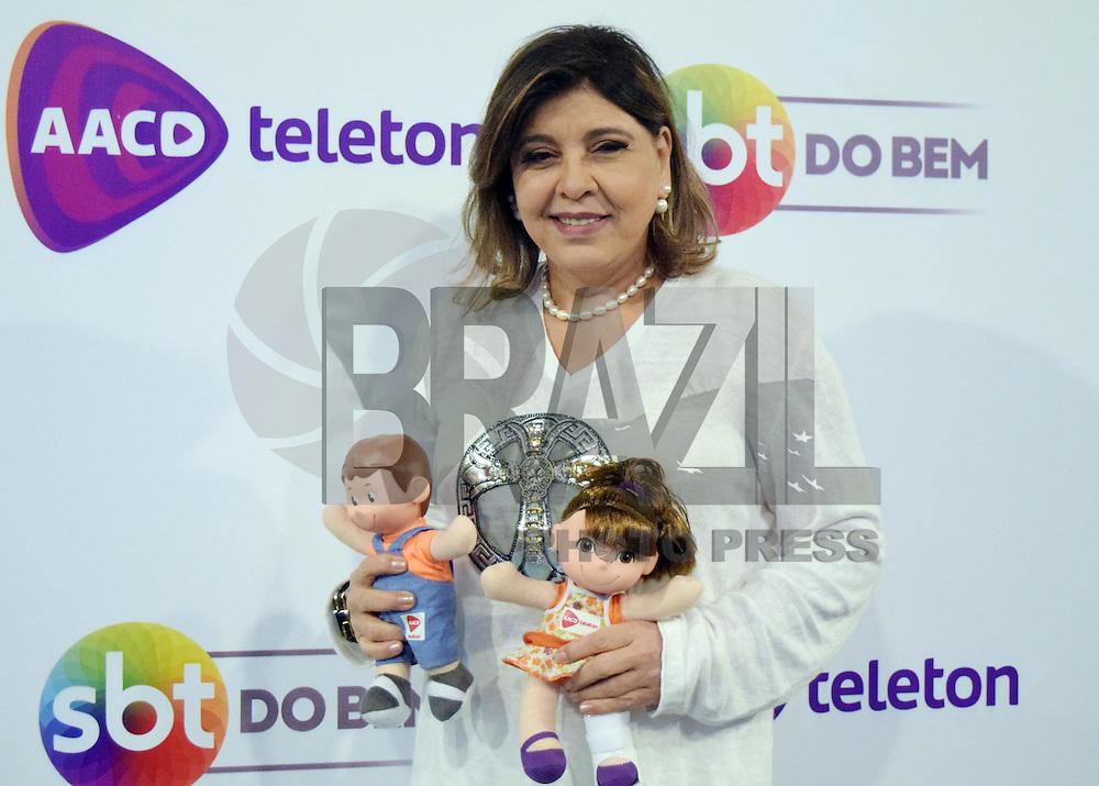 OSASCO,SP 24.10.2015 - TELETON-SP - Roberta Miranda, durante o Teleton 2015 realizado no Estudio 2 do SBT, na noite desse sábado,24  (Foto: Eduardo Carmim / Brazil Photo Press)