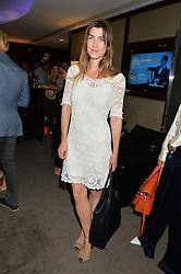 The UK Premier of Johnnie Walker Blue Label's 'Gentleman's Wager' - a short film starring Jude Law was held at The Bulgari Hotel & Residences, 171 Knightsbridge, London on 22nd July 2014.<br /> Picture Shows:-IZZY LAWRENCE.